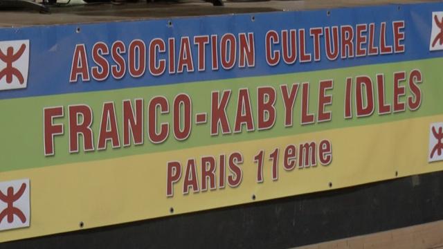 La bannière de l'association franco-kabyle Idlès