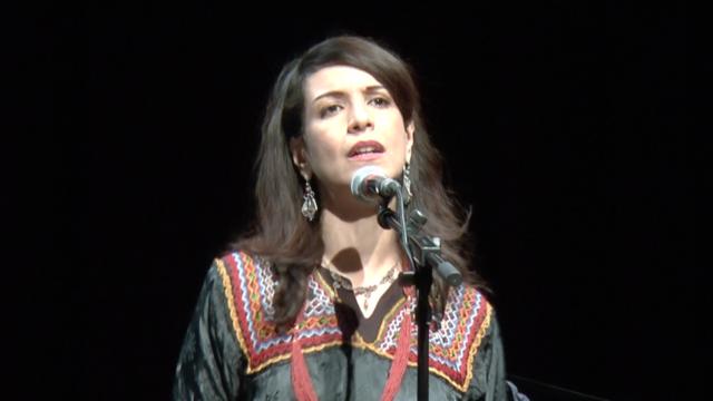 La chanteuse d'origine kabyle Sammia